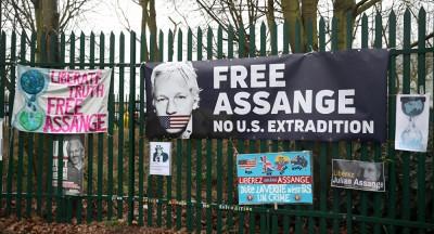 Δεκάδες ΜΚΟ στο πλευρό του Julian Assange - Ζητούν την αποφυλάκισή του