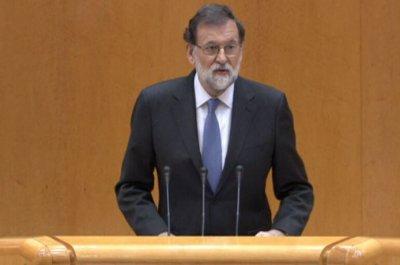 Rajoy: Η Καταλονία αψηφά τους νόμους - Ζητώ από τη Γερουσία να στηρίξει την ενεργοποίηση του άρθρου 155
