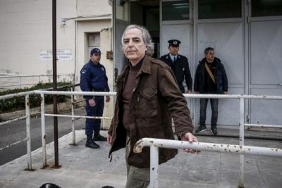Αίτημα αποφυλάκισης κατέθεσε ο Κουφοντίνας της 17Ν