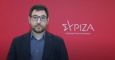 Ηλιόπουλος: Ή επαγγελματίας απατεώνας ή εκτός τόπου και χρόνου ο Μητσοτάκης