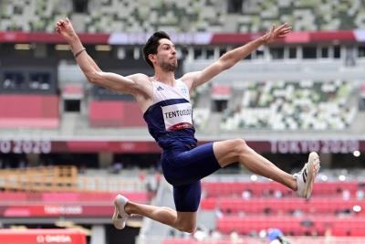 Χρυσός Ολυμπιονικής στο άλμα εις μήκος ο Μίλτος Τεντόγλου! (video)
