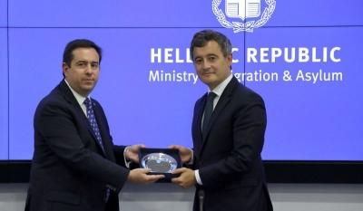 Γάλλος Yπουργός Eσωτερικών: Μακάρι όλες οι χώρες να εργάζονταν όπως η Ελλάδα για τον έλεγχο των συνόρων