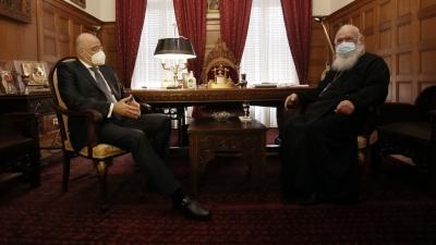 Δένδιας σε Ιερώνυμο: Συνάντηση με Cavusoglu, εάν η Τουρκία κρατήσει μια καλή συμπεριφορά