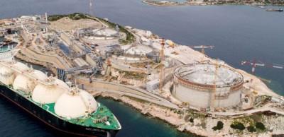 Με δημοπρασίες θα κατανέμεται η χωρητικότητα του Σταθμού Υγροποιημένου Φυσικού Αερίου στη Ρεβυθούσα