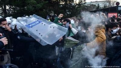 Τουρκία: Έντονες διαμαρτυρίες φοιτητών εδώ και 1 μήνα - Δεν παραιτείται ο εκλεκτός του Erdogan