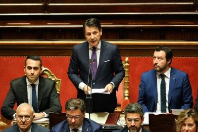 Συμβιβασμό Ιταλίας με ΕΕ με μείωση του ελλείμματος από 2,4% σε 2,1% - Ο Salvini αποτρέπει το ρήγμα με το M5S