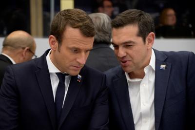 Macron σε Τσίπρα για Τουρκία: Ακόμα και φρεγάτες θα σου στείλω για περιπολίες