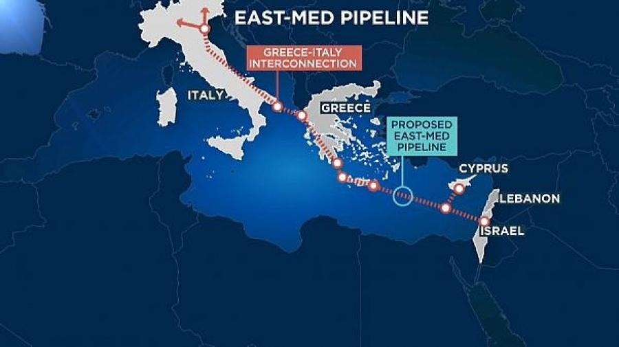 Ενώ το State Department εναντιώνεται στον TurkStream... η Ρωσία περικυκλώνει με αγωγούς την Ευρώπη, κόντρα στον EastMed