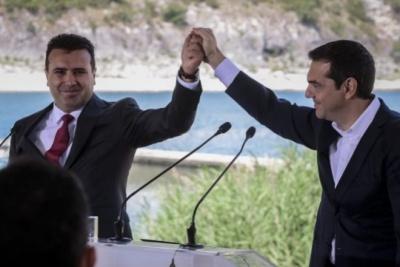 Zaev σε Τσίπρα για κύρωση της Συμφωνίας των Πρεσπών: Πετύχαμε μια ιστορική νίκη