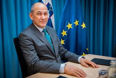 Janša (Σλοβενία): Η ΕΕ πρέπει να δείξει στην Τουρκία ότι λειτουργεί ενωμένη