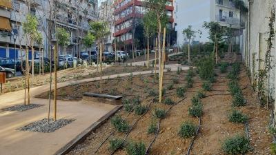 «Πάρκα Τσέπης» που κάνουν τις πόλεις μας πιο βιώσιμες