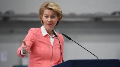 Σε καραντίνα η Ursula von der Leyen (Κομισιόν) - Είχε επαφή με επιβεβαιωμένο κρούσμα κορωνοϊού
