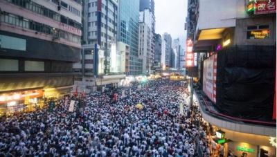 Χονγκ Κονγκ: Δεκάδες χιλιάδες άνθρωποι συγκεντρώνονται για μία νέα αντικυβερνητική διαδήλωση
