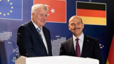 Τι συζήτησαν στην επικοινωνία τους οι υπουργοί Εσωτερικών Γερμανίας – Τουρκίας