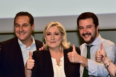 Ο Salvini συσπειρώνει την Ευρωπαϊκή ακροδεξιά με Le Pen και Strache - Θέλει έως και 61 έδρες στο Ευρωκοινοβούλιο
