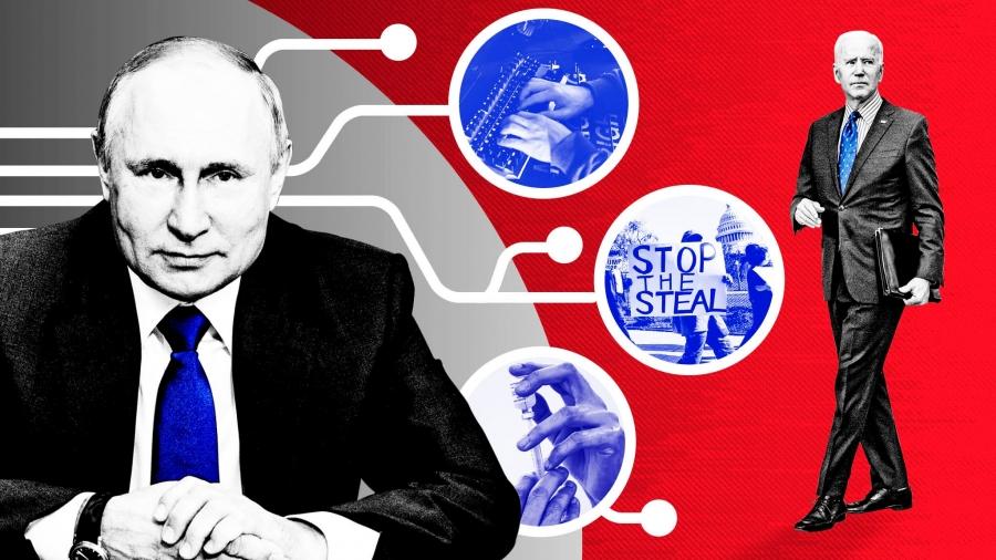 Κατηγορίες Biden κατά Ρωσίας πως θέλει να αναμιχθεί στις ενδιάμεσες εκλογές του 2022