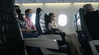 Τι δείχνει νέα μελέτη για την προστασία COVID-19 στο αεροπλάνο