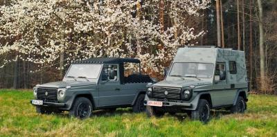Πώς θα μπορούσαν να γίνουν τα Mercedes G-Wagen του Ελληνικού Στρατού;