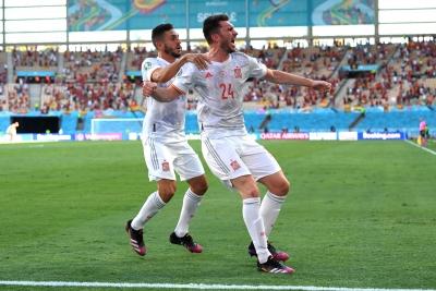 Σλοβακία – Ισπανία 0-3: Υπέροχη συνεργασία και γκολ ο Σαράμπια (video)