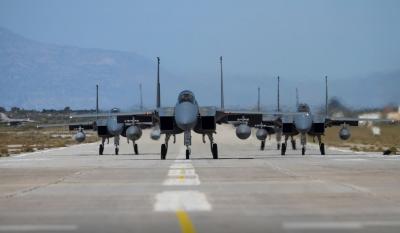 Άσκηση των Ελληνικών Ενόπλων Δυνάμεων με την αεροπορία της Σαουδικής Αραβίας