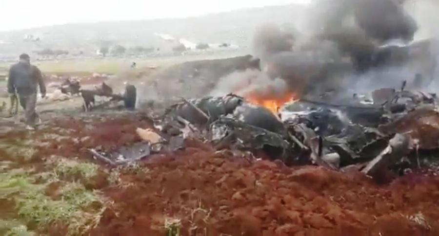 Σύροι αντάρτες κατέρριψαν ελικόπτερο των δυνάμεων Assad - Νεκροί οι χειριστές