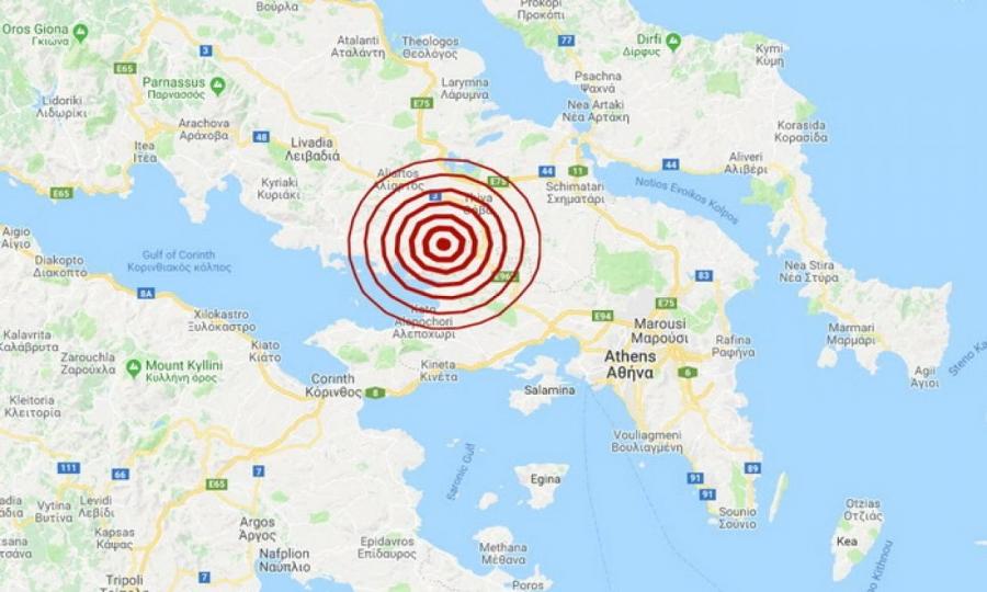 Συνεχείς σεισμοί στη Θήβα – Λέκκας: Ιδιαίτερο φαινόμενο – Δεν μπορεί να δώσει πάνω από 5,3 Ρίχτερ