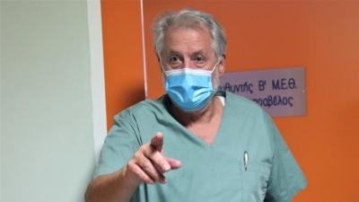 Καπραβέλος: Πάμε για τραγωδία ανεμβολίαστων - Στη Β. Ελλάδα, 8 ασθενείς είναι διασωληνωμένοι σε απλές κλίνες