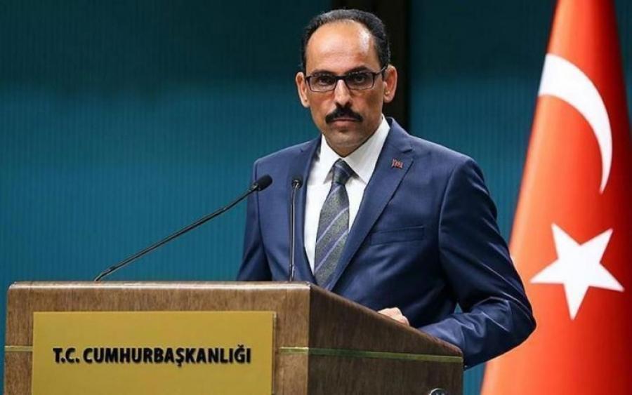 Kalin (Τουρκία): Είμαστε έτοιμοι για συνεργασία με την καρδιά και το μυαλό των Αράβων... την Αίγυπτο