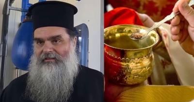 Iερέας στο Αγρίνιο: Κοινώνησα 700 πιστούς τα Χριστούγεννα, δεν μεταδίδεται ο κορωνοϊός