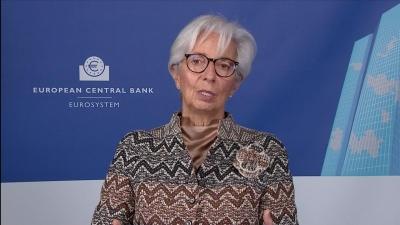 Lagarde (ΕΚΤ): Η Ευρώπη ξεπερνά την κρίση, αλλά δεν έχει ξεπεράσει τον κίνδυνο - Δεν θα λάβουμε κοντόφθαλμες αποφάσεις