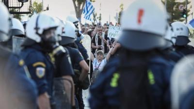 Θεσσαλονίκη: Ελεύθεροι οι εννέα συλληφθέντες για τα επεισόδια στην συγκέντρωση των αντιεμβολιαστών