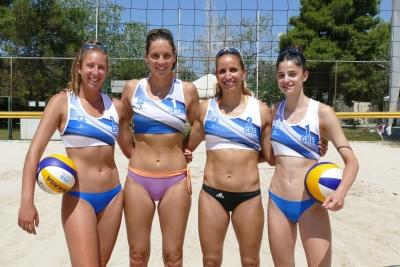 Εθνικές ομάδες Beach Volley: «Θα διεκδικήσουμε τις πιθανότητές μας, επιτυχία και μόνο που βρισκόμαστε εδώ» (video)