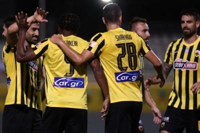 ΑΕΚ – Απόλλων Σμύρνης 2-0: «Ξεμούδιασμα» με ντεμπούτο Χατζισαφί για την Ένωση