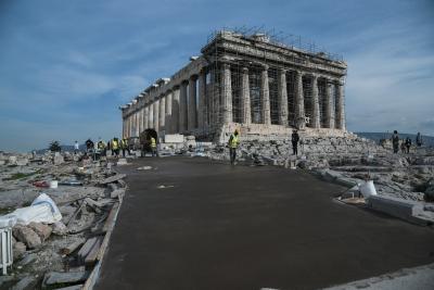 Υπουργείο πολιτισμού: Καμία πινακίδα δεν θα αναρτηθεί επί του Βράχου της Ακροπόλεως