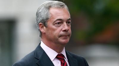 Farage: Χωρίς deal για τις χρηματοπιστωτικές υπηρεσίες, θα πρέπει να επιλέξουμε ένα «σκληρό Brexit»