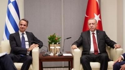 Μητσοτάκης για διερευνητικές επαφές: Ελπίζω να σταματήσουμε να παίζουμε τις κουμπάρες με την Τουρκία