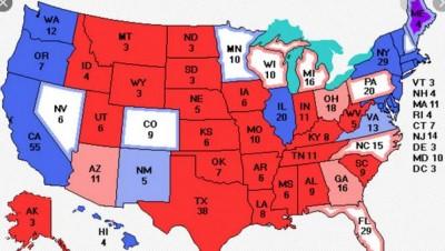 Εκλογές - ΗΠΑ: Οι δέκα πιο σημαντικές πολιτείες - Ποιες θα κρίνουν το τελικό αποτέλεσμα