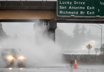 ΗΠΑ: Μετά την ξηρασία, η Καλιφόρνια στο έλεος ισχυρών καταιγίδων