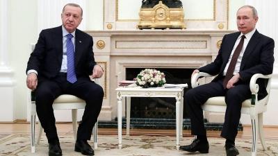 Αμετακίνητος ο Erdogan για τους S400: Δεν θα κάνουμε ούτε βήμα προς τα πίσω - Η συνάντηση με Putin στη Ρωσία