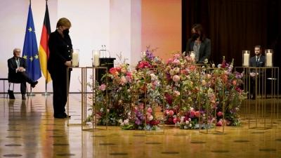 Γερμανία: Εκδήλωση μνήμης για τα 80.000 θύματα του κορωνοϊού