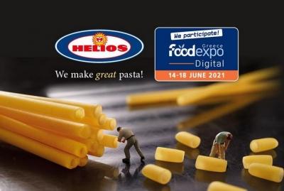 Η Βιομηχανία Ζυμαρικών ΗΛΙΟΣ συμμετέχει στη FoodExpo Digital 2021