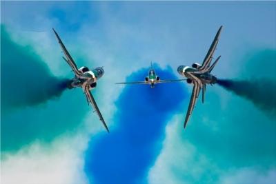 Η εντυπωσιακή αεροπορική άσκηση Ελλάδας - Σαουδικής Αραβίας