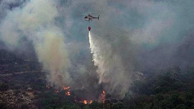Ιταλία: Αποτέλεσμα εμπρησμών οι μεγάλες πυρκαγιές στη Σικελία