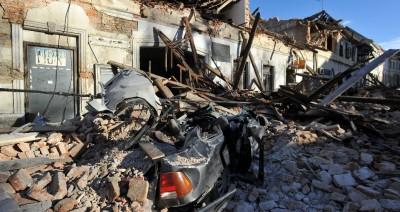 Πέντε νεκροί από τον σεισμό στην Κροατία - Γκρεμίστηκε η μισή πόλη της Πέτρινια