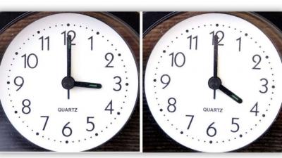 Αλλάζει η ώρα την Κυριακή 28/3 – Μία ώρα μπροστά οι δείκτες των ρολογιών