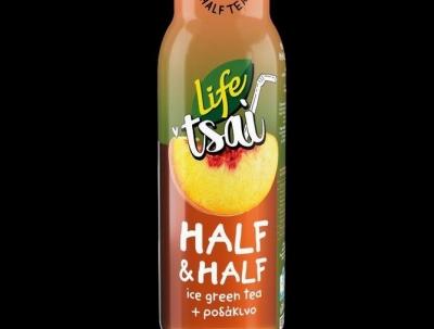 Λανσάρισμα νέας γεύσης LIFE Tsai Half & Half Πράσινο Τσάι-Ροδάκινο!