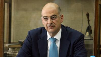 Δένδιας: Επιτάχυνση των συζητήσεων για οριοθέτηση των ΑΟΖ  Ελλάδας - Αιγύπτου