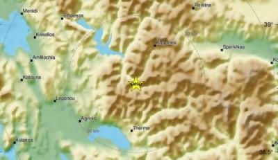 Σεισμός 4,1 Ρίχτερ στο Καρπενήσι