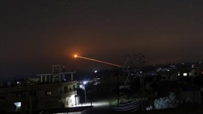 Συρία: Αεροπορική επιδρομή του Ισραήλ στη Δαμασκό