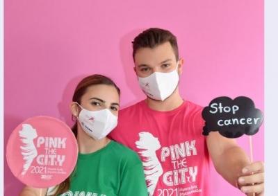 Η DUR στηρίζει τη διοργάνωση Pink the City και διαδίδει το μήνυμα της πρόληψης και καταπολέμησης του καρκίνου του μαστού